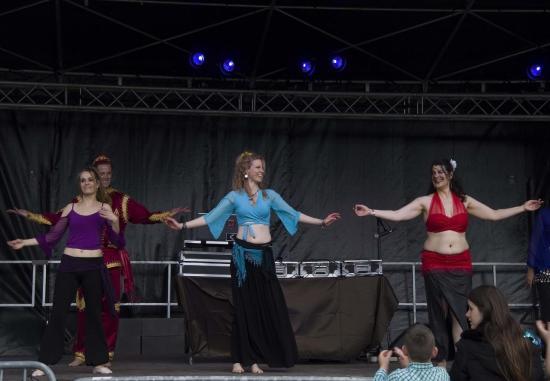 Elèves Danse Orientale Niveau Intermédiaire