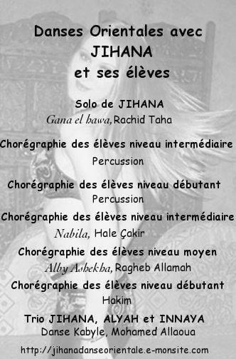 Gala des e le ves de jihana 2012