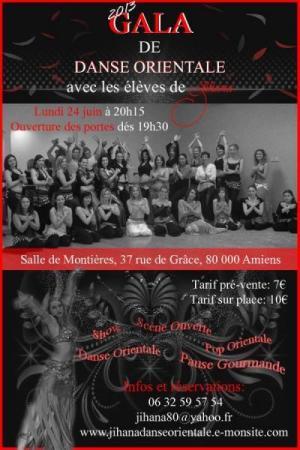 Gala des élèves de Jihana 2013