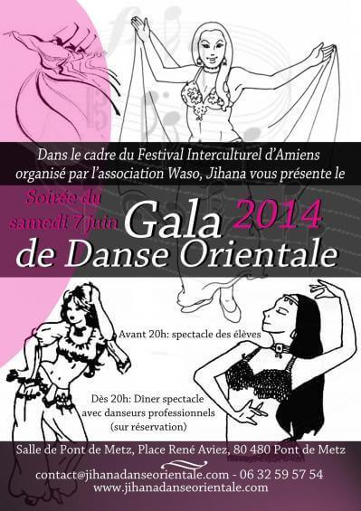 Gala des élèves de Jihana 2014