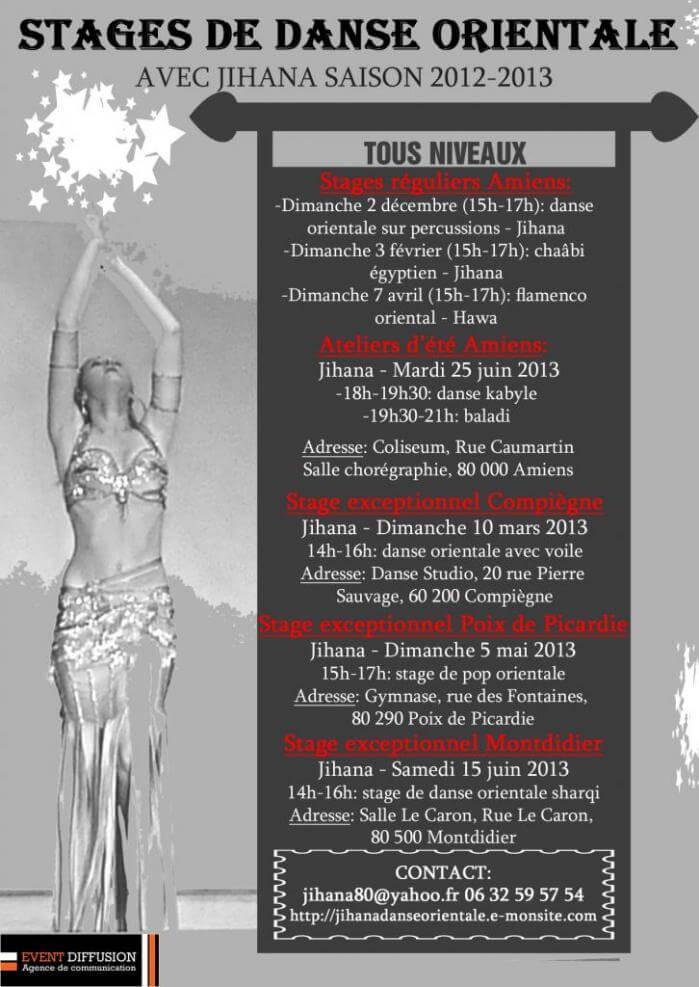 Stages saison 2012 13